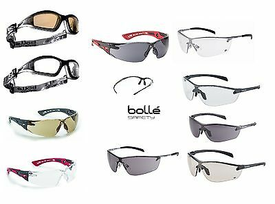 £11.19 • Buy BOLLE Safety Glasses, Various Types - Pouch & Adjustable Cord With Some Models.