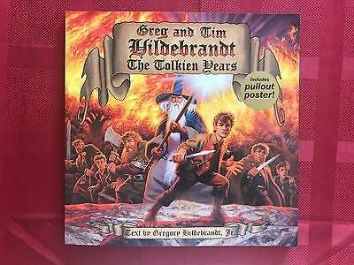 £176.99 • Buy Tolkien Years: Greg And Tim Hildebrandt NM Signed By Both 1st W/ Poster Rare