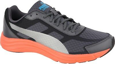 4493cd4ef120 Puma Expedite Mens Cushioned Running Shoes - Grey Trainers