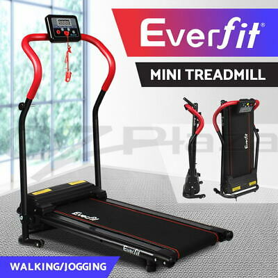 AU269.95 • Buy Everfit Electric Mini Treadmill Home Gym Exercise Machine Fitness Equipment Red