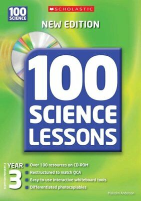 100 Science Lessons For Year 3 With CDRom,Malcolm Anderson, Kirsty Wilson • 2.82£
