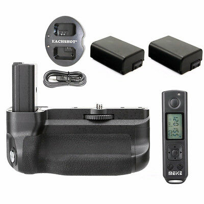 $ CDN230.83 • Buy Battery Hand Grip For Sony A6300 Camera Photo + Remote Control + 2 Batteries