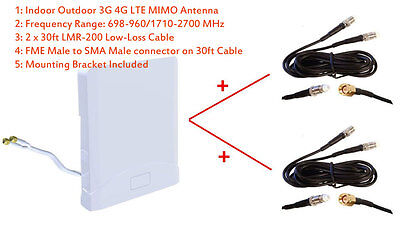 AU166.52 • Buy 3G 4G LTE Omni MIMO Antenna For Huawei B525 B525s 23a 95a 4G LTE Router