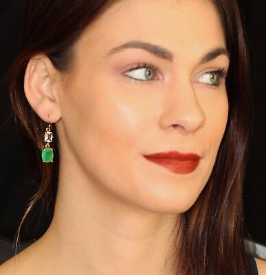 $ CDN78.34 • Buy Kate Spade Ny Hancock Park Chandelier Double Drop Earrings Dangle Emerald Green