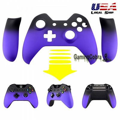 $15.99 • Buy Front Housing Shell Faceplate Side Rails For Xbox One Controller Shadow Purple