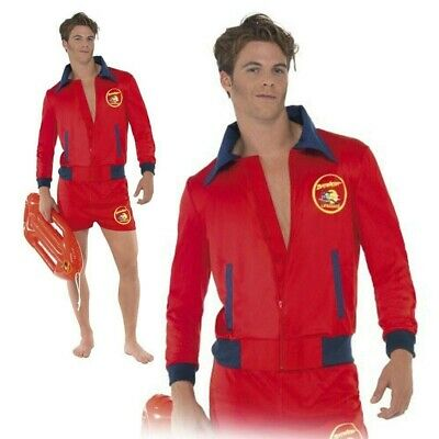 £32.49 • Buy Baywatch Lifeguard Sea Adult Mens Film TV Fancy Dress Costume Outfit