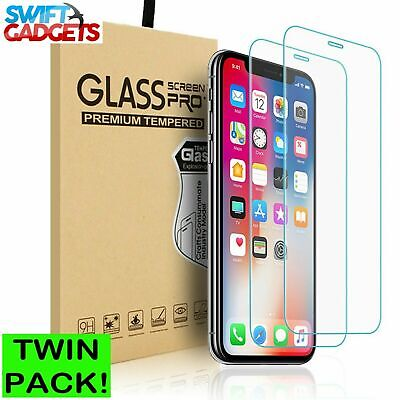 For Apple IPhone 8 Plus Tempered Glass Screen Protector  – 100% Genuine • 1.99£