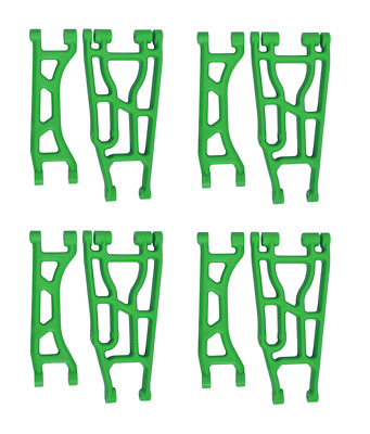 AU108.93 • Buy Traxxas X-Maxx RPM A-Arm Set Front Rear Upper Lower Suspension Arms Green
