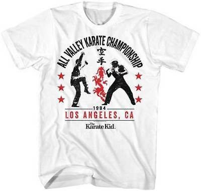 $20.70 • Buy Karate Kid All Valley Karate Championship 1984 Adult T Shirt Great Classic Movie