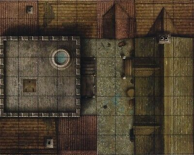AU1.30 • Buy Dungeons & Dragons WATCHTOWER PARAPET Gamemastery D&D Map Tiles - Rooftops