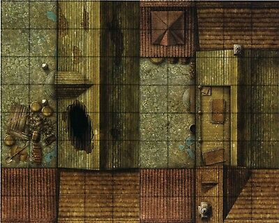 AU1.34 • Buy Dungeons & Dragons DILAPITATED ROOF Gamemastery D&D Map Tiles - Rooftops