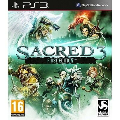 AU19.80 • Buy Sacred 3 First Edition PS3 Game Sony PlayStation 3 PS3 Brand New SEALED