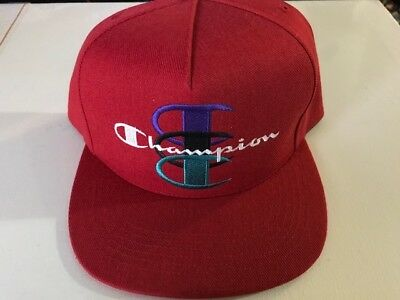 $ CDN113.18 • Buy Supreme FW17 Champion  5 PANEL HAT Cap RED IN HAND NWT