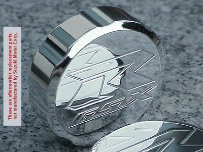 $12.95 • Buy Suzuki GSXR600 GSXR750 GSXR1000 GSXR 600 750 1000 CHROME FRONT BRAKE FLUID CAP