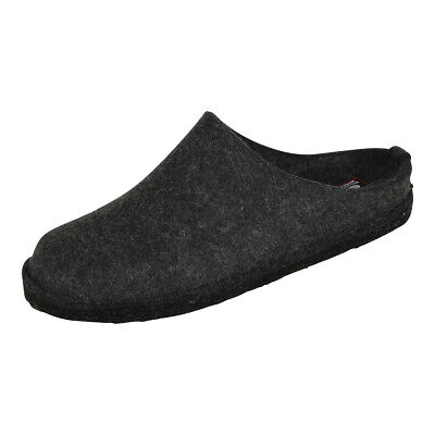 Haflinger Unisex Slippers Shoes Flair Soft Graphite (Grey) • 40.05£