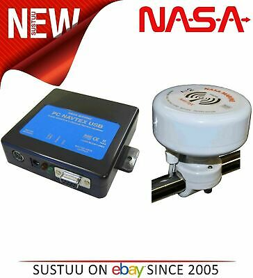 NASA Marine PC Navtex Pro USB Engine 2 With H Vector Antenna & 7m Cable│12-15VDC • 145.08£