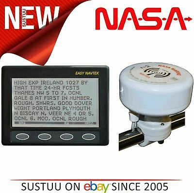 NASA Marine Easy Navtex With H Vector Navtex Antenna & 7m Cable│For Boats/Marine • 299.90£
