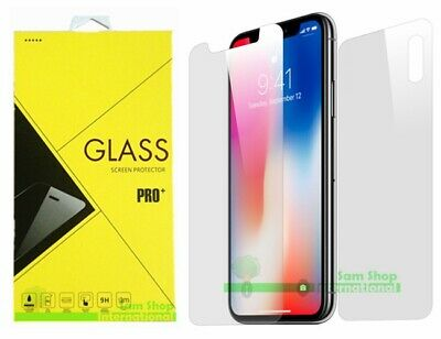 AU4.99 • Buy Tempered Glass Screen Protector Apple IPhone X FULL BODY Front+Back+Back Camera