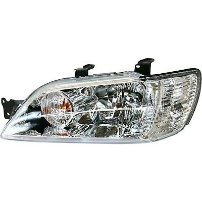 $73.87 • Buy Headlight For 2002-2003 Mitsubishi Lancer Left Clear Lens With Bulb