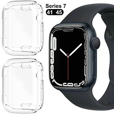 $ CDN2.49 • Buy IWatch 38/42MM For Apple Watch Clear Case Cover Screen Protector Series 1/2/3