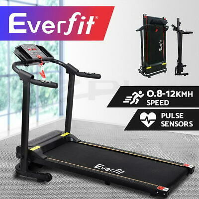 AU499.95 • Buy Everfit Electric Treadmill Home Gym Exercise Fitness Machine Equipment Running