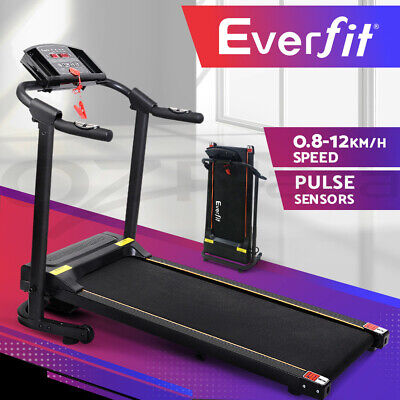 AU459.95 • Buy Everfit Treadmill Electric Home Gym Exercise Fitness Machine Equipment Running