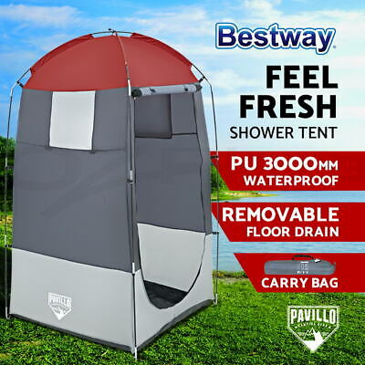 AU39.90 • Buy Bestway Camping Tents Pou Up Tent Shower Toilet Room Outdoor Portable Shelter