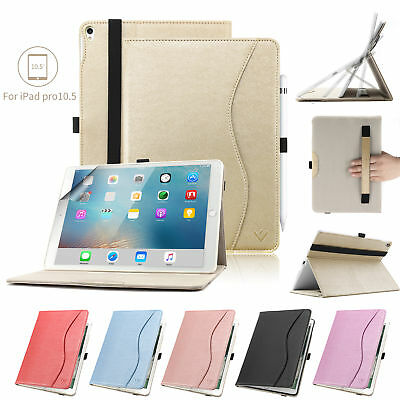 AU15.99 • Buy PU Leather Folio Stand Cover Ipad Pro 10.5 Case/ipad Air 3 Shell With Pen Holder