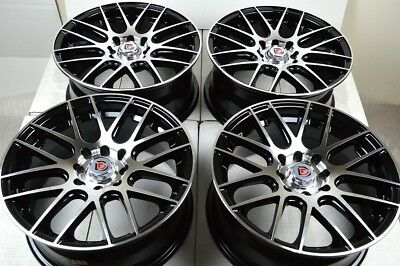 $332.64 • Buy 15 Wheels Cooper Spectra Accord Civic CRX Del Sol Fit Prelude 4x100 4x114.3 Rims