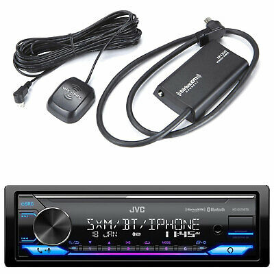 $288.49 • Buy Kenwood Marine Boat CD MP3 Bluetooth Stereo + Digital Remote & SiriusXM Antenna