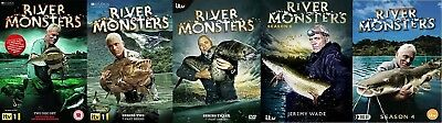 £89.98 • Buy RIVER MONSTERS Series 1-5 Jeremy Wade SEALED/NEW Collection Seasons  1 2 3 4 5