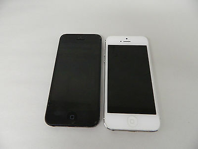 $ CDN108.82 • Buy Lot Of 2 - Apple IPhone 5 - Model A1429 - Good Condition - LOCKED - White Black