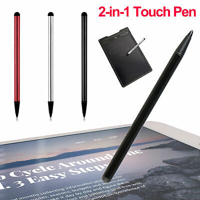 $5.49 • Buy 2 In 1 Touch Screen Pen Stylus Universal For IPhone IPad Samsung Tablet Phone PC