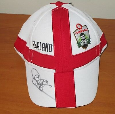Paul Collingwood  (England) Signed Official England Ashes Cap  (White) + COA • 83.29£
