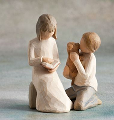 £37.40 • Buy Willow Tree Siblings - Sister & Brother Figurine Gift Set Family Group