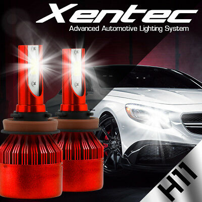 $23.49 • Buy XENTEC LED HID Headlight Conversion Kit H11 6000K For 2007-2016 Toyota Camry