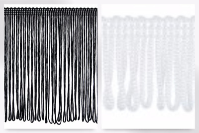Simplicity Looped Chainette Fringe Trimming - Per 25 Metre Roll (T144-R8529L-... • 23.99£