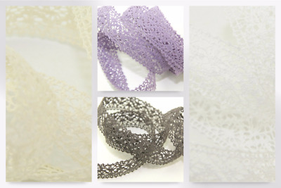 Cotton Crochet Lace Trimming (HR086-25-M) • 15.99£