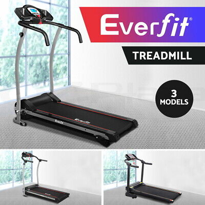 AU209.90 • Buy Everfit Electric Treadmill Gym Home Exercise Walk Machine Fitness Equipment