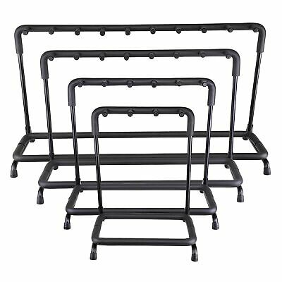 $ CDN69.49 • Buy Guitar Stand 3 5 7 9 Holder Guitar Folding Rack Stand Stage Bass Acoustic Guitar