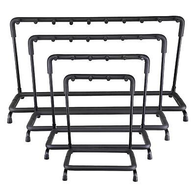 $ CDN50.92 • Buy Guitar Stand 3 5 7 9 Holder Guitar Folding Rack Stand Stage Bass Acoustic Guitar