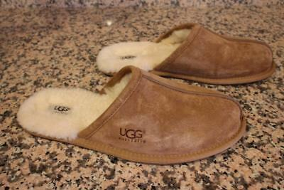 8acac57631a mens sheepskin slippers size 11