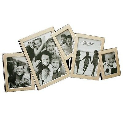 £14.95 • Buy Juliana Impressions Overlapping Collage Photo Frame - 5 Apertures