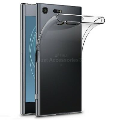 AU4.97 • Buy Ultra Clear Transparent Silicone Gel Case Cover For Sony Xperia XZ Premium