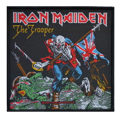 £2.69 • Buy IRON MAIDEN - The Trooper PATCH 10 X 10CM