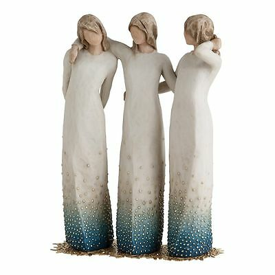 £69.95 • Buy Willow Tree By My Side Figurine 27368 Sisters Girls Cousins In Branded Gift Box