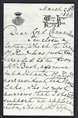 £195 • Buy Princess Mary Adelaide Signed Letter To Queen Victoria Tory Lord Chancellor 1896