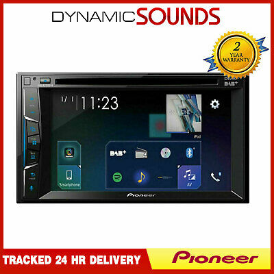 Pioneer avh-a210bt doble DIN cd//dvd//mp3 autoradio pantalla táctil USB Bluetooth IPO