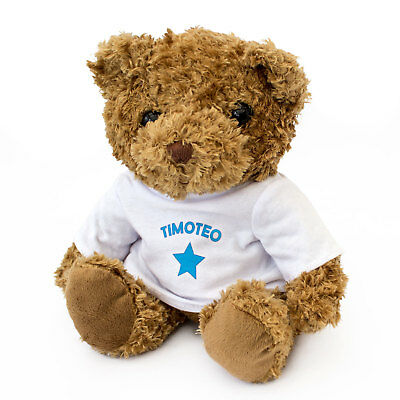 NEW - TIMOTEO - Teddy Bear - Cute And Cuddly - Gift Present Birthday Xmas • 17.95£
