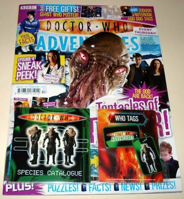DOCTOR WHO ADVENTURES Comic Magazine # 61 (April 2008) With  NOTEBOOK/TAGS Gift  • 4.99£